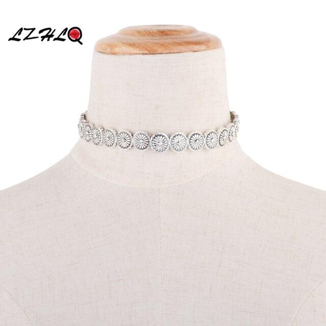 Lzhlq Цыганский дизайн из чистого сплава темпераментный чокер