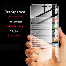 Tempered glass for huawei mate 8 9 10 Pro screen Protector Full screen transparent for huawei P9 P9 Plus P10 P10 Plus protection все цены