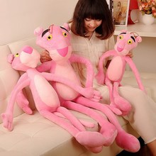 1pcs 1# 38cm hotselling PINK PANTHER doll leopard plush toys factory wholesale dropshopping