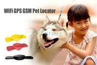 Pesonal Pet Waterproof GPS Tracker Wifi GPS GPRS GSM positioning PC Web Server Mobile Apps Indoor Outdoor