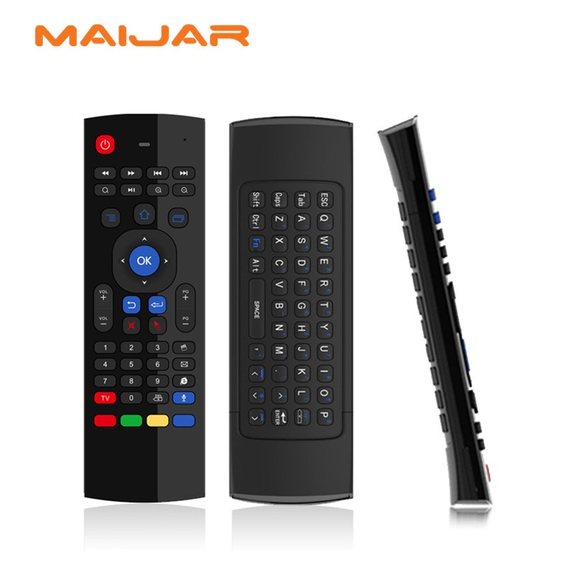 Air mouse T3M microphone suitable for computer android smart tv box <font><b>set</b></font> <font><b>top</b></font> box media player pad android stick Game consoles