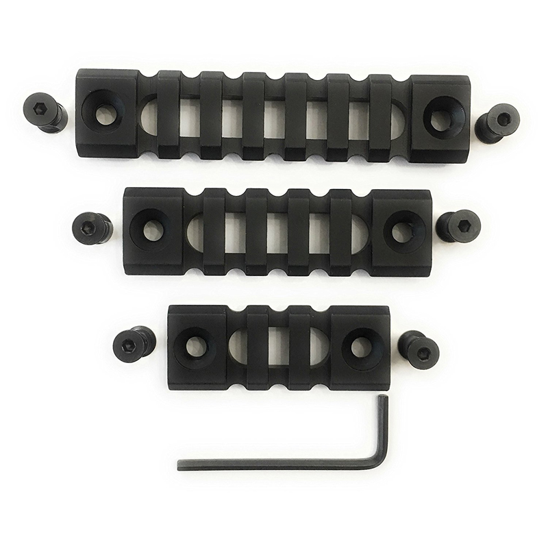 Image 4 - Hunting Accessories Tactical Mount Rail Lightweight Picatinny Rail Section 3/5/7 Slot KeyMod Rail for Keymod Handguard Mount-in Hunting Gun Accessories from Sports & Entertainment