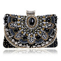 Luxury Diamonds Women Evening Bags Rhinestones Small Handbags Retro Crystal Day Clutches Chain Shoulder Bags Lady Wedding Purse