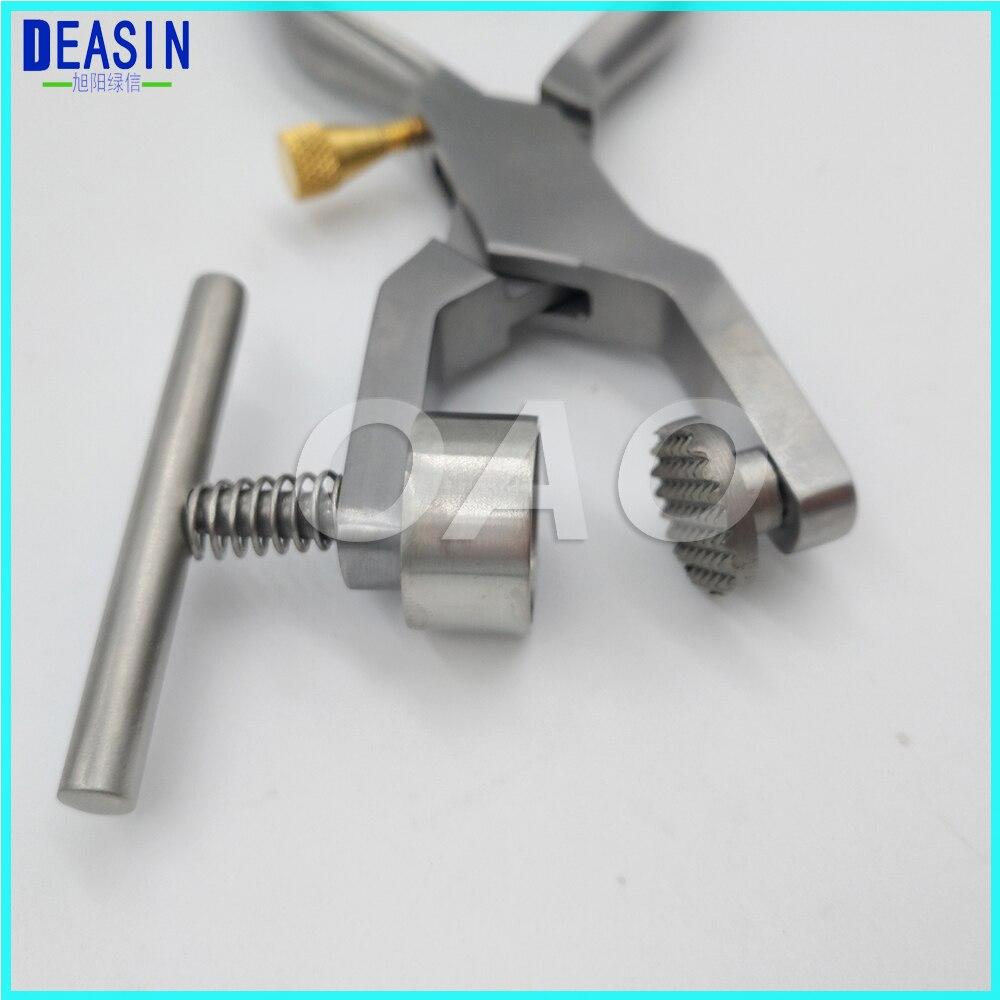 Material de laboratório dental a coroa quebrada