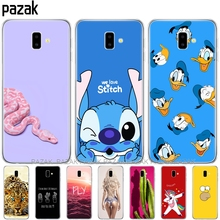 soft silicone phone case For Samsung J6 Plus Cases Soft TPU