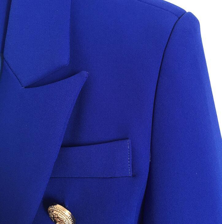 Blazer Women Suit Jacket Fashion Long Sleeve Coat Women Elegant Double Breasted Jacket Female Office Ladies Work Blazer Feminino