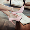 Lolita Shoes Handmade Faux Pearl Bow Bridal Shoes Women Wedding Pumps Ladies Sweet Dress High Heels free shipping Zapatos Mujer