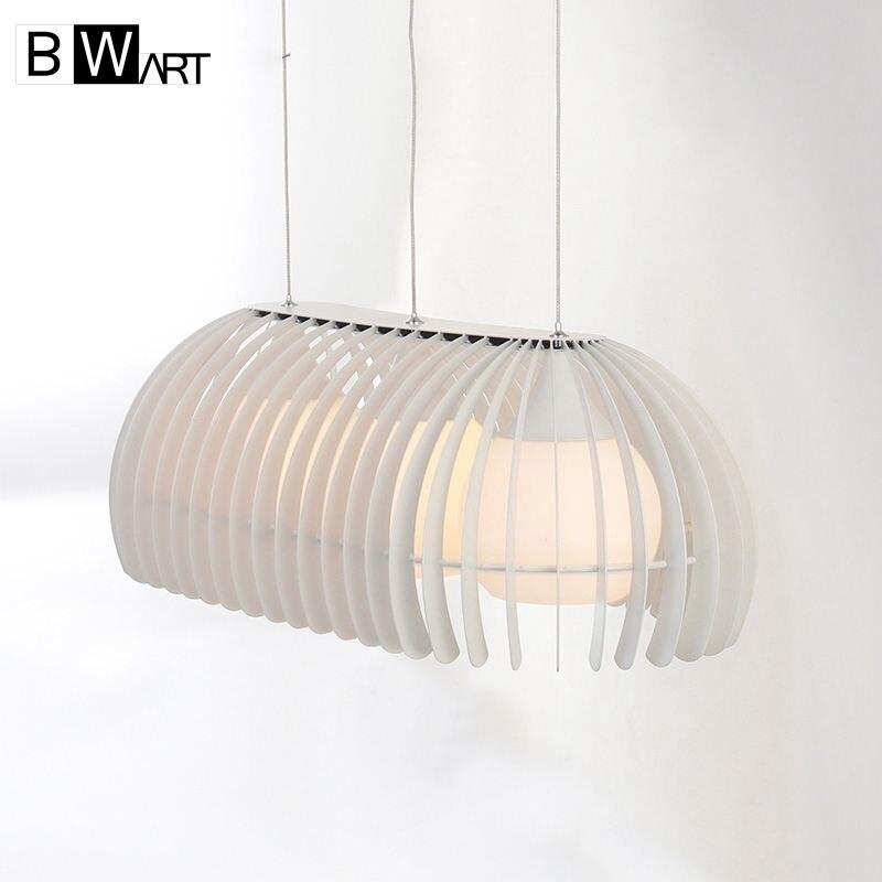 BWART modern black chandelier light lustre fixture pendant E27 lamp suspension design art deco loft style for kitchen bedroom
