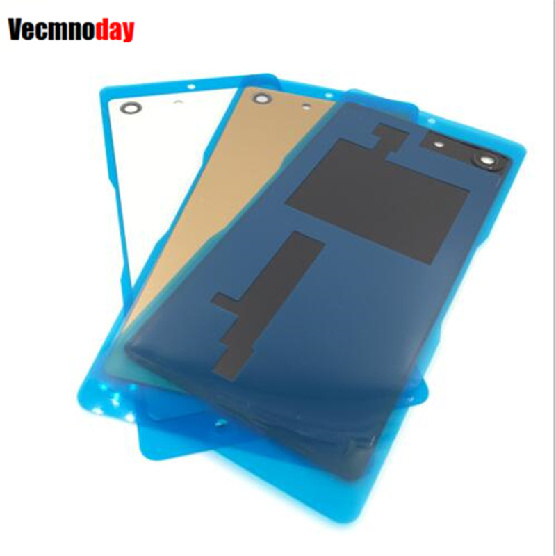 Vecmnoday Batterie Couverture pièces de rechange 1 pcs Pour Sony Xperia M5 E5603 E5606 E5653 Arrière Batterie Porte Logement de Couverture Arrière