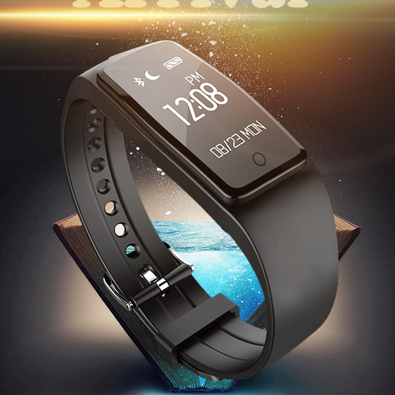 Hot Sale Bluetooth Heart Rate Monitor Smart Wristband Sleep Manage Sports Fitness Track Bracelet for Android