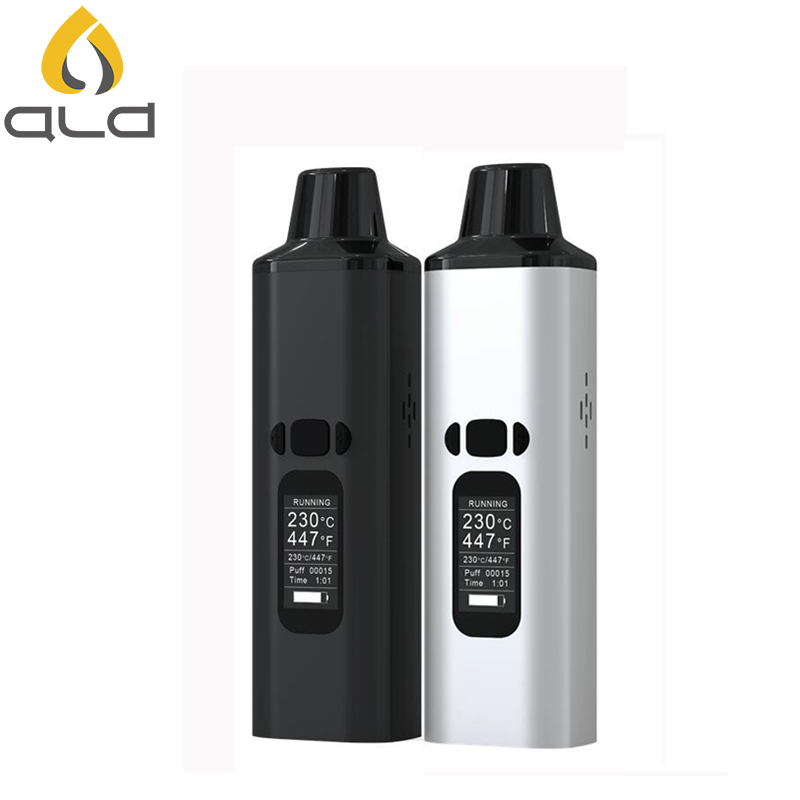 Original ALD AMAZE WowKit Dry Herb Vaporizer Vape Pen with 1800mAh Battery Electronic Cigarette Herbal Vapor