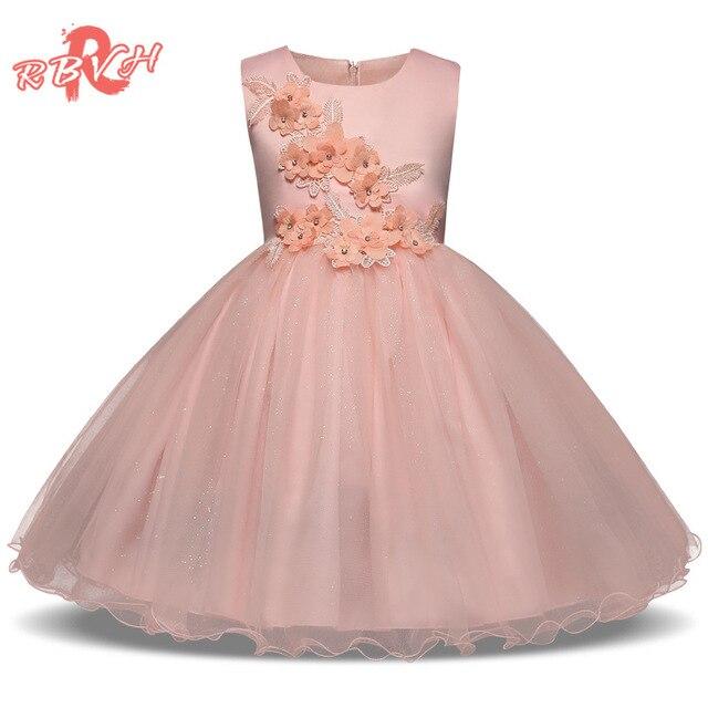 Elegante princesa traje para Niñas desgaste del partido niños ropa ...