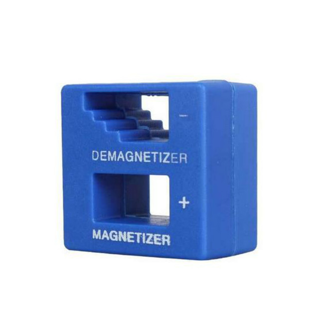 Screwdriver Magnetic Pick Up Tool Screwdriver 1 Piece New High-Quality Magnetizer Demagnetizer Tool Blue