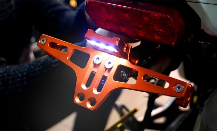 Honda CB үшін мотоцикл литы кронштейнін - Мотоцикл аксессуарлары мен бөлшектер - фото 6