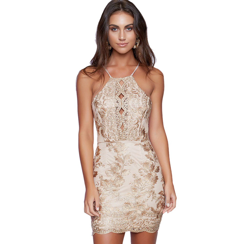 HTB10NpxPVXXXXckXVXXq6xXFXXXM - FREE SHIPPING Elegant Dress Embroidery Bodycon Sleeveless Off Shoulder Hollow Out Lace Party Mini Dress JKP290