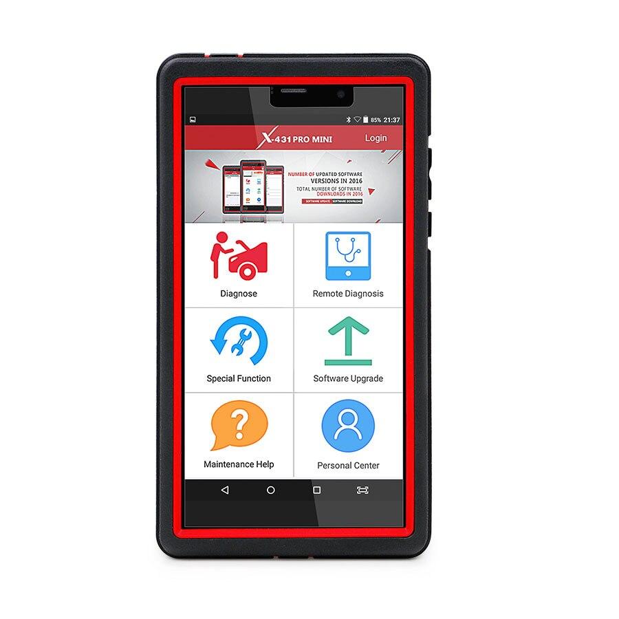 Launch X431 Pro Mini Bluetooth с 2 летним бесплатным обновлением онлайн, мощнее, чем Diagun