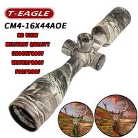 Hot new T Eagle CM4 16x44AOE Tactical RiflesScope AirRifle sniper Optics Rifle Scopes sight camouflage HD R/G Hunting Scopes