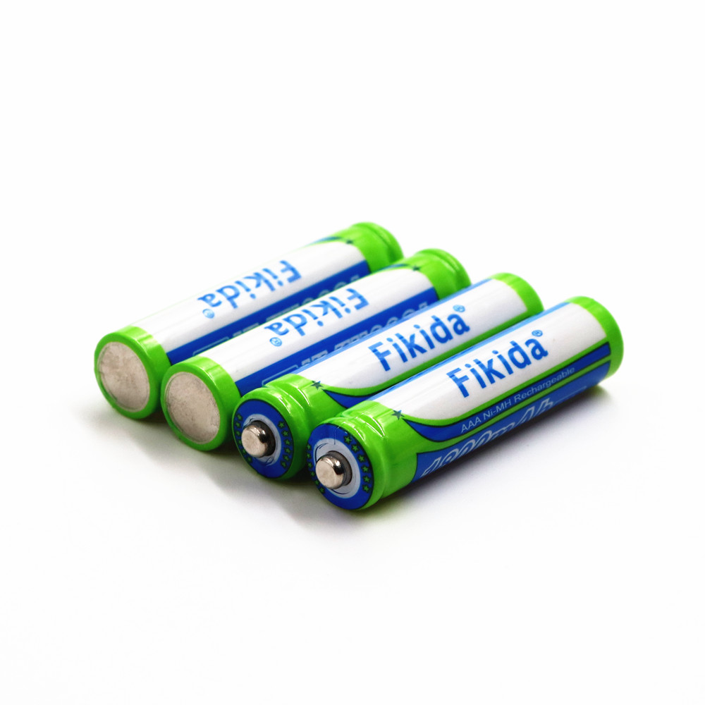 Fikida High Capacity NiMH AAA 3A Rechargeable Battery 1.2V 1800mAh Razor Remote Control Aircraft Electric Toy Battery