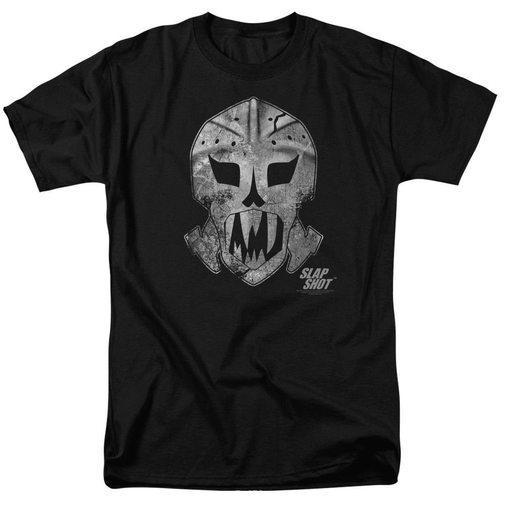 Slap Shot Goalieed Mask T-shirts for Men Women or Kids