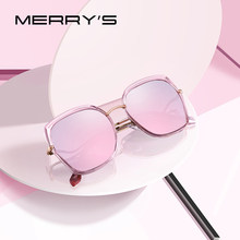 MERRYS diseño de moda de las mujeres de ojo de gato gafas de sol  polarizadas señoras de la marca de lujo de moda gafas de sol UV. 69940bd87722
