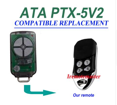 FOR ATA PTX5V2 PTX2V2 Garage Door Triocode Control PTX-5V2 Transmitter Remote