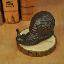 Hard Cast iron ware wrought snail home decoration balcony living room bedroom decorative cast  crafts creative gifts