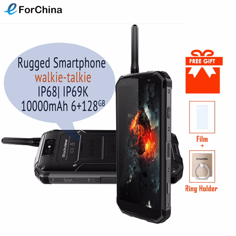 """Blackview BV9500 Pro 5.7"""" 18:9 Screen Android 8.1 Phone MT6763T Octa Core 6GB RAM 128GB ROM Smartphone OTG NFC Waterproof Mobile"""