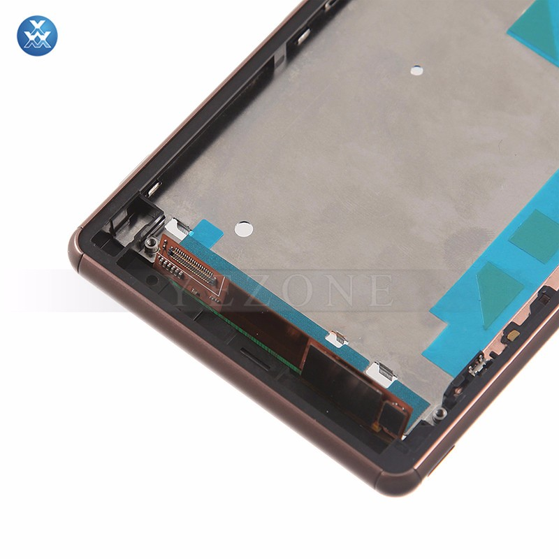 Sony Xperia Z3 LCD & Digitizer Assembly with Frame - Copper (8)
