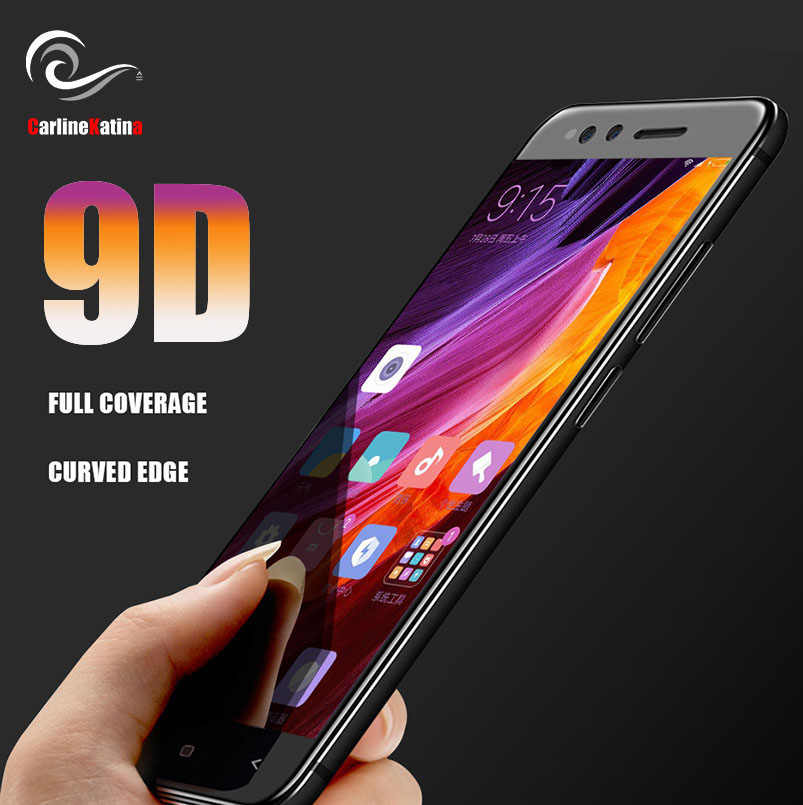 9D Tempered Glass Screen Protector Full Cover for Xiaomi Mi 8 5X A1 6 6X Redmi s2 5 Plus Note 5A 4X Y1 lite Note 5 Pro Film 9H