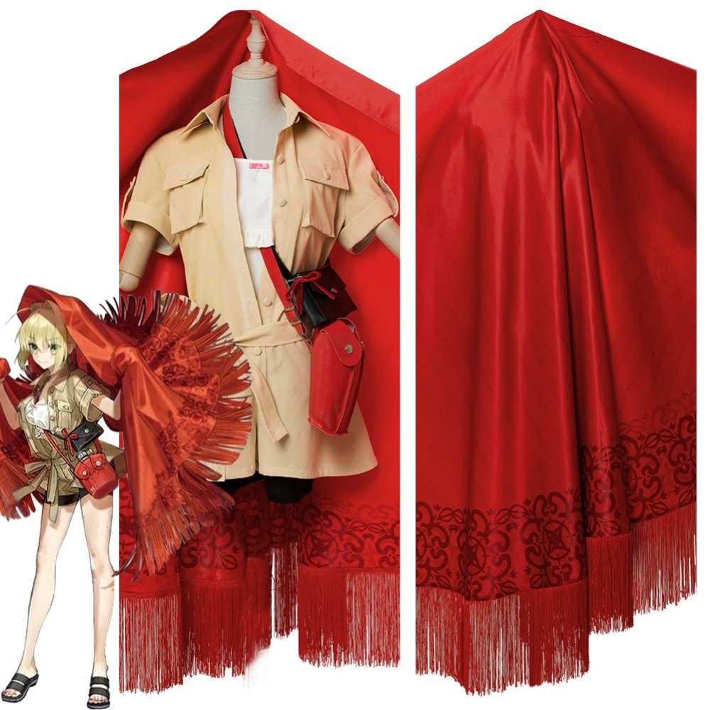 Cosplay Costume Fate Grand Order Nero Saber Cosplay Costume Third Anniversary Uniform Adult Women Men Halloween Carnival Costume