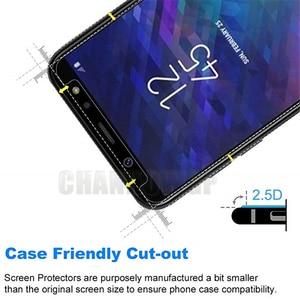 Image 5 - 9H Gehärtetem Glas Für Samsung Galaxy A6 2018 A600 A600FN Screen Protector Für Samsung A6 + A6 Plus 2018 a605 A605FN Film Sklo