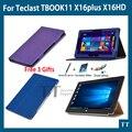 Para Teclast TBOOK11 10.6 polegada case capa, os mais recentes de alta qualidade caso de Couro Pu para Teclast TBOOK 11 X16plus + livre 3 presentes