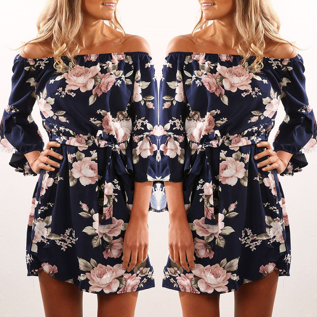 30fc0ccaff3b 2018-Women-Dress-Summer-Sexy-Off-Shoulder-Floral-Print-Chiffon-Dress -Boho-Style-Short-Party-Beach.jpg_640x640.jpg