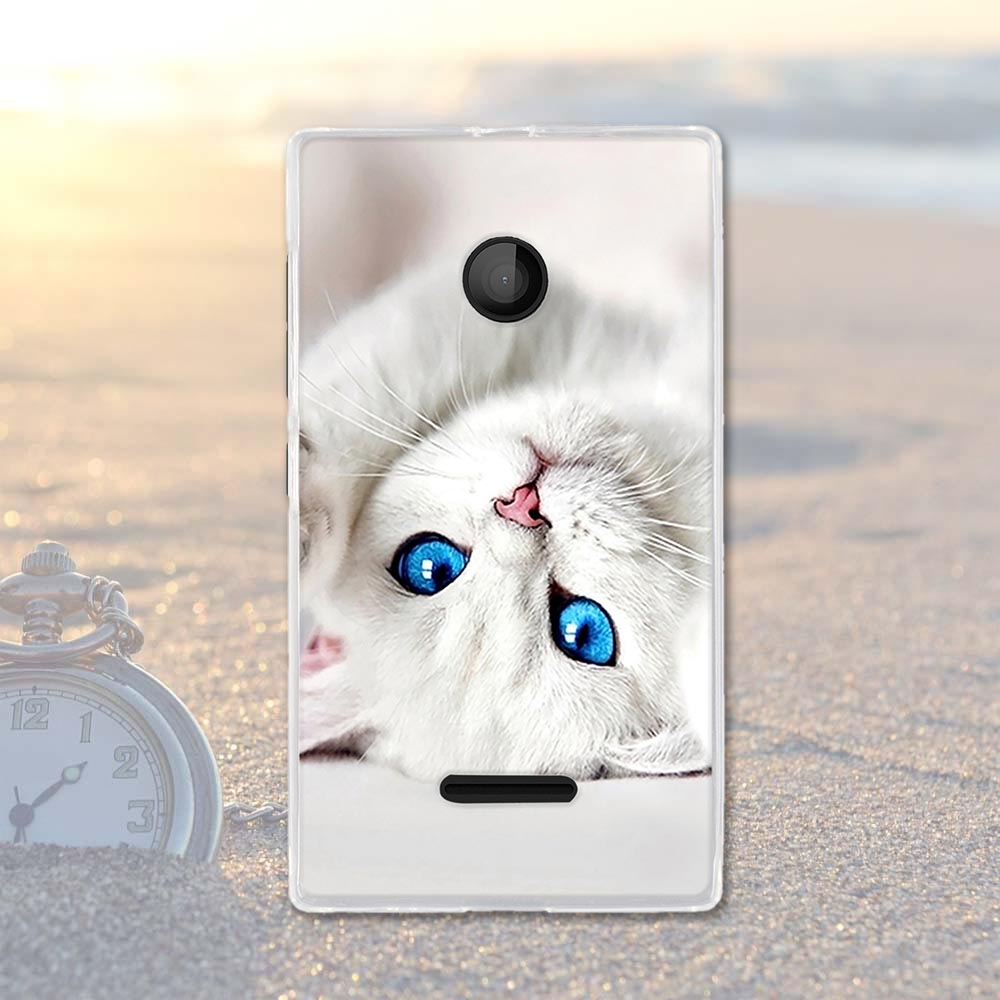 Soft TPU Silicone Phone Cases For Microsoft Nokia Lumia 435 N435 Covers 532 N532 Housing Bags Skin For Nokia Lumia 435 Shell
