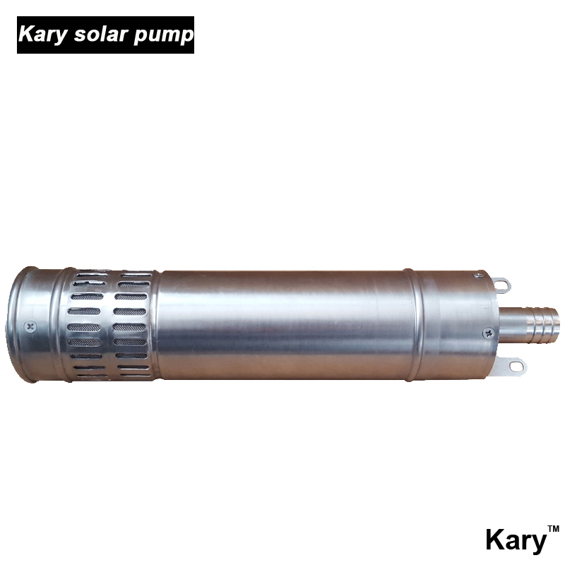 Kary 24 volt dc solar water pump submersible solar pump for Solar water pump pond