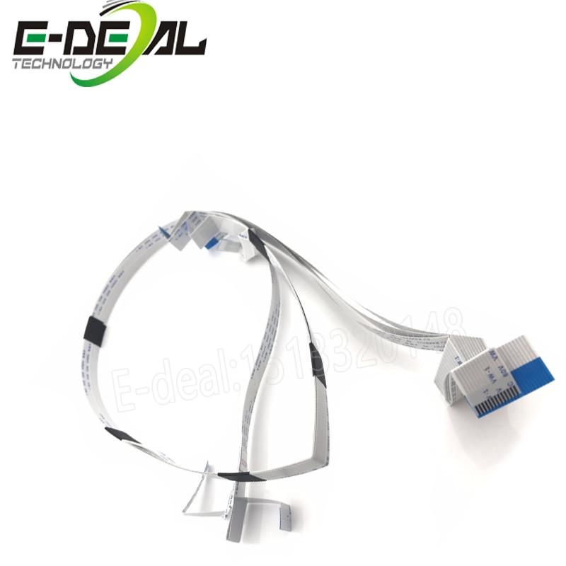 1pcs Print Head Cable For Epson L800 L801 T60 T50 R330 L805 L850 Printer Nozzle Head Cable L 801 L 800 Office Electronics Printer Parts