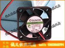 Бесплатная доставка Оптовая продажа SUNON kde1204pfv3 40 мм 4 см 4010 DC 12 В 0.8 Вт инвертор сервер Тихий Мини Micro вентилятор охлаждения