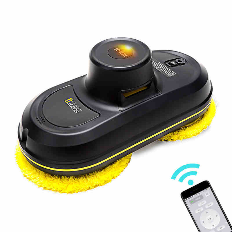 HOBOT Smart Automatic Window Vacuum Cleaner Cleaning Robot Vacuums Cleaners 5600Pa High Suction Remote Control Wet Dry Wiping