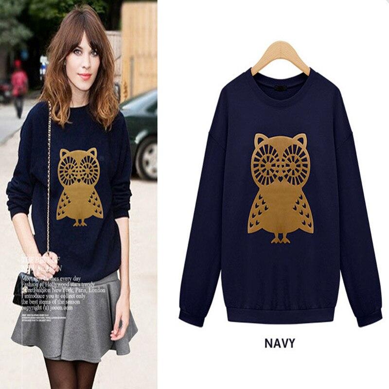 Buy new design fashion brand printed owls for T shirt design sleeve print