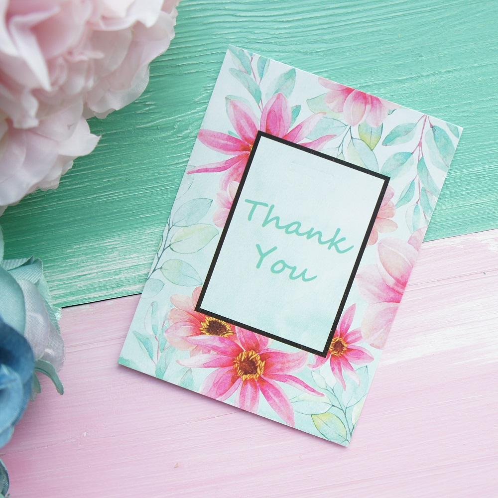 unids mini luz azul tarjeta de elegante flor dejar mensaje tarjetas de amor suerte