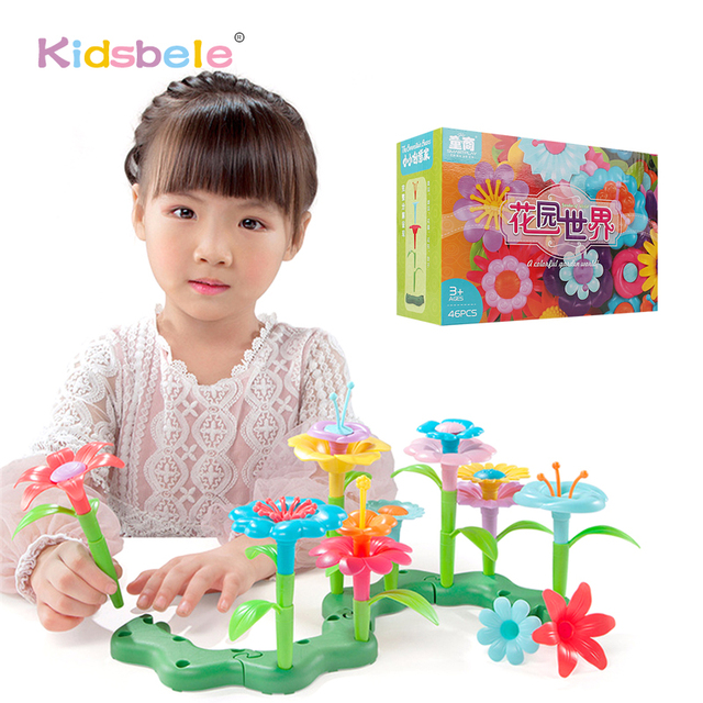 Remarkable, Girls group with toys
