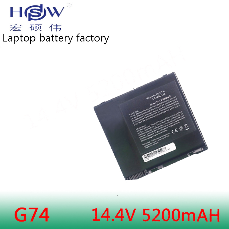 HSW 8cells Battery For ASUS A42 G74 LC42SD128 G74J G74S G74SX G74SW G74JH G74SX XR1 G74SX XC1 G74SX FHD TZ048V G74SX XA1 bateria in Laptop Batteries from Computer Office