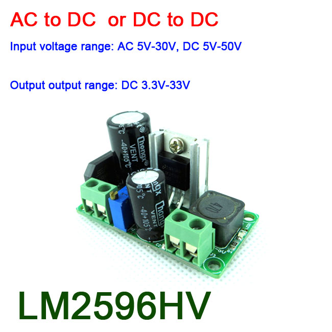 20W DC-DC 5V-30V TO ±5V ±6V ±9V ±12V ±15V ±24V Boost-Buck Converter POWER module