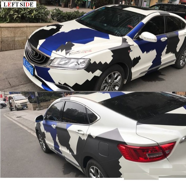 LEFT SIDE Full Body Car Stickers Customization Car Styling Tailor ...