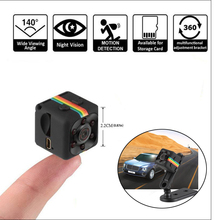 SQ11 HD 480P Mini Camera Sensor Night Vision Camcorder Motion DVR Micro  Sport DV Video Cam