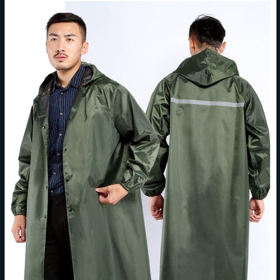 f6e7e0dcbff Aliexpress.com: Comprar Abrigo de lluvia largo para hombres senderismo  Poncho impermeable para mujeres al aire libre cubierta de lluvia abrigo  hombre ...