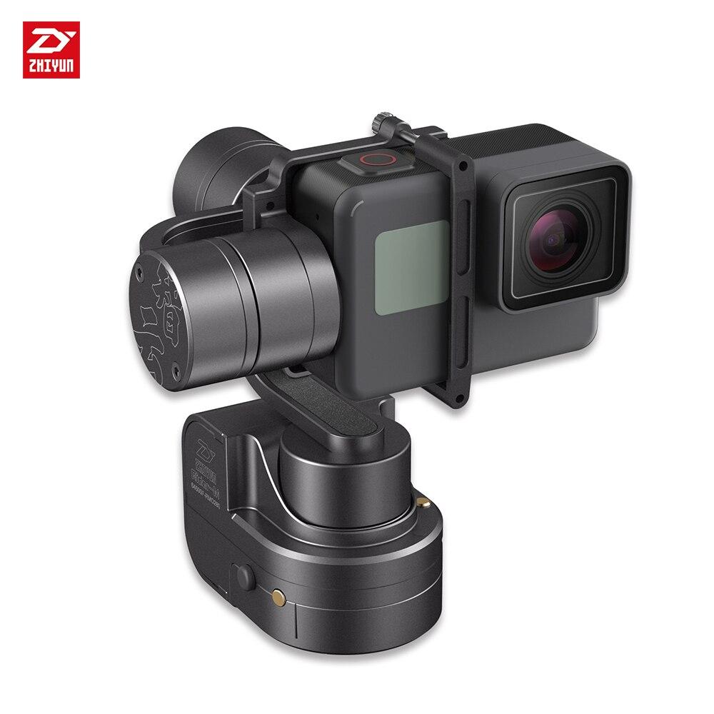 zhi yun Zhiyun Official Rider M Handheld Gimbal For GoPro HERO 5 4 3 3+ Action Camera yuneec q500 typhoon quadcopter handheld cgo steadygrip gimbal black
