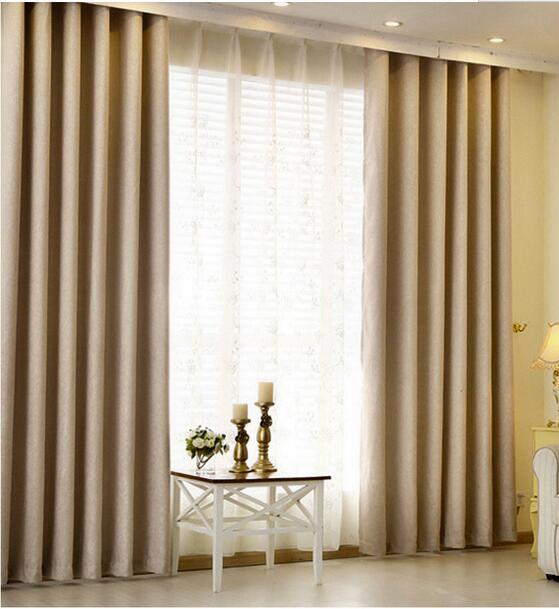 Good Quality Hangs Well 900g Meter Flax Blackout Curtains