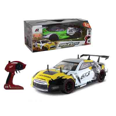 Kingtoy 1:10 Big High Speed Large Kids 2.4G Speed Racing Car RC Automobile Race Car Toy