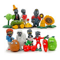 Hot Selling 16pcs/set Plant VS Zombie Series 1 Anime Figure Toys 3-8cm PVZ PVC Generation 1 Model Collective Dolls Kid Toys